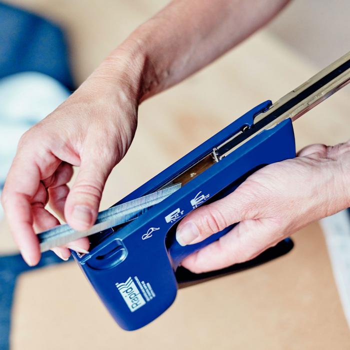 Capsator tacker Rapid Multitacker MS2.1, reglare forta capsare, nas lung, capse 53/6-12 mm, capse cabluri 7/12-14, fabricat in Suedia 5000625-big