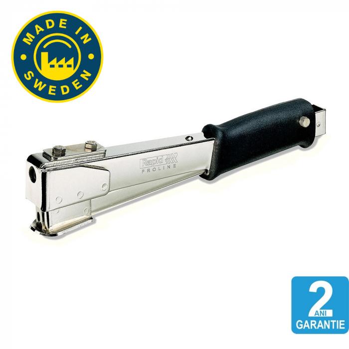 Ciocan capsat Rapid PRO R54, Heavy-duty, capse 140/10-14mm, 2 ani garantie, fabricat in Suedia 10566826-big