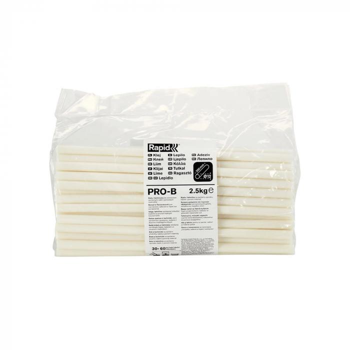 Baton silicon Rapid PRO-B Sanitar si Cabluri alb, Ø12mm x 295mm, baza EVA, 2.5 kg/pachet 40302804-big
