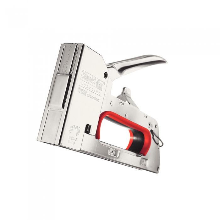 Capsator tacker Rapid PRO R153E, capse 53/4-8 mm, 5 ani garantie, fabricat in Suedia 20511050-big