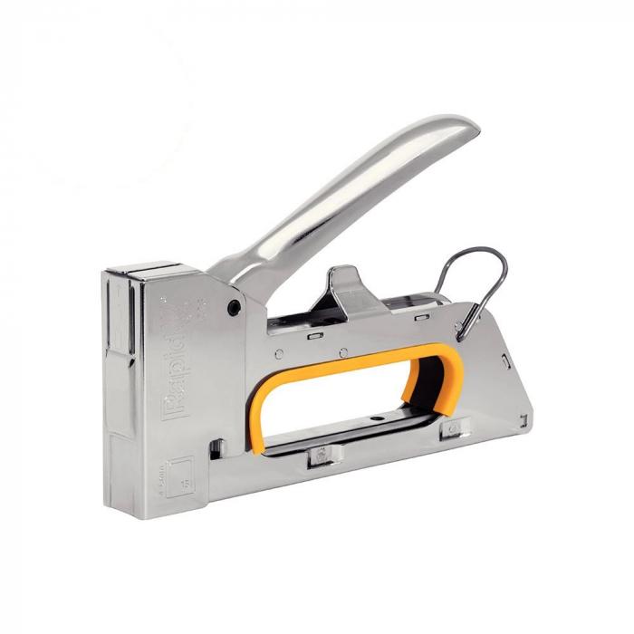 Capsator tacker Rapid PRO R23E, ergonomic, capse 13/4-8 mm, 5 ani garantie, fabricat in Suedia 10600521-big