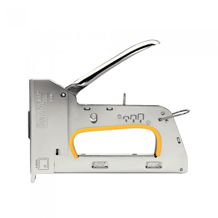 Capsator tacker Rapid PRO R30E nas lung, ajustare forta capsare in 3 trepte, capse 13/4-8 mm, 5 ani garantie, 5 ani garantie, fabricat in Suedia 20510850-big