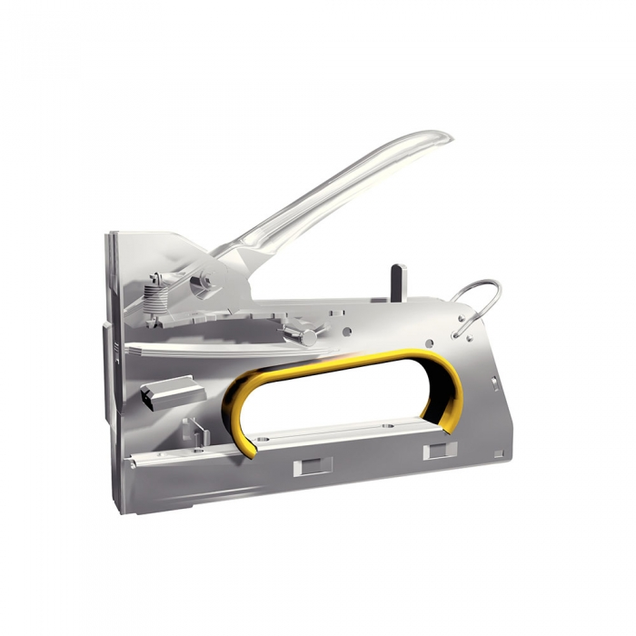 Rapid PRO R33E staple gun, 3-steps force adjuster, staples 13/6-14 mm, 5 year guarantee, made in Sweden, 10582521-big