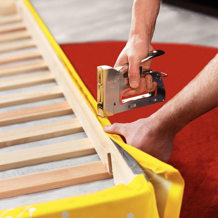 Capsator tacker Rapid PRO R353E, ajustare forta capsare in 3 trepte, capse 53/6-14 mm, 5 ani garantie, fabricat in Suedia 5000063-big