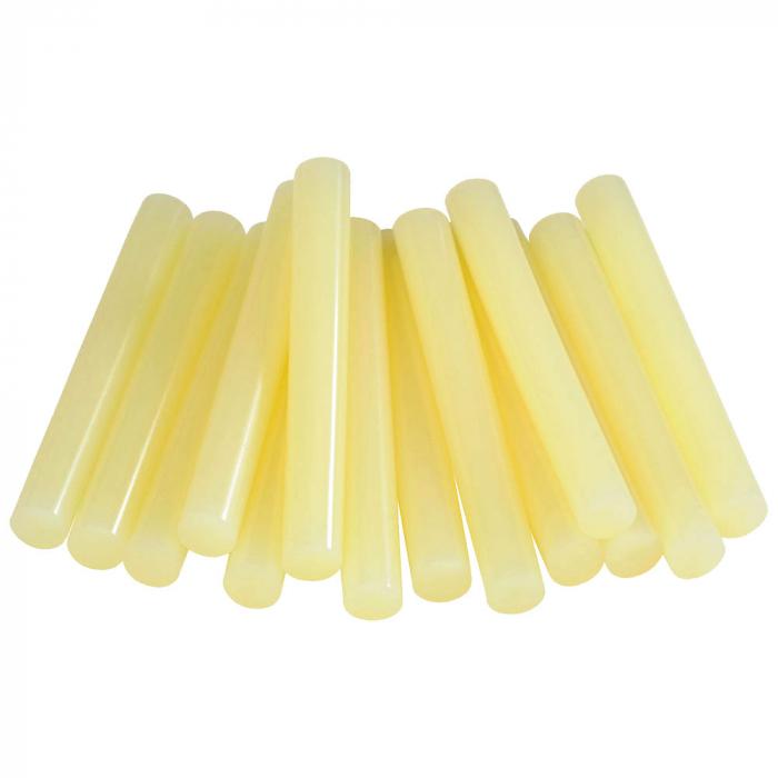 Baton silicon profesional Rapid Piele intoarsa, Textile, Pluta, galben, Ø12mm x 94mm, baza EVA, 50g/blister 40107354-big