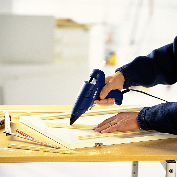 Baton silicon profesional Rapid PRO-T PVC si Cabluri, transparent, Ø12mm x 190mm, baza EVA, 10 kg/pachet 40302775-big
