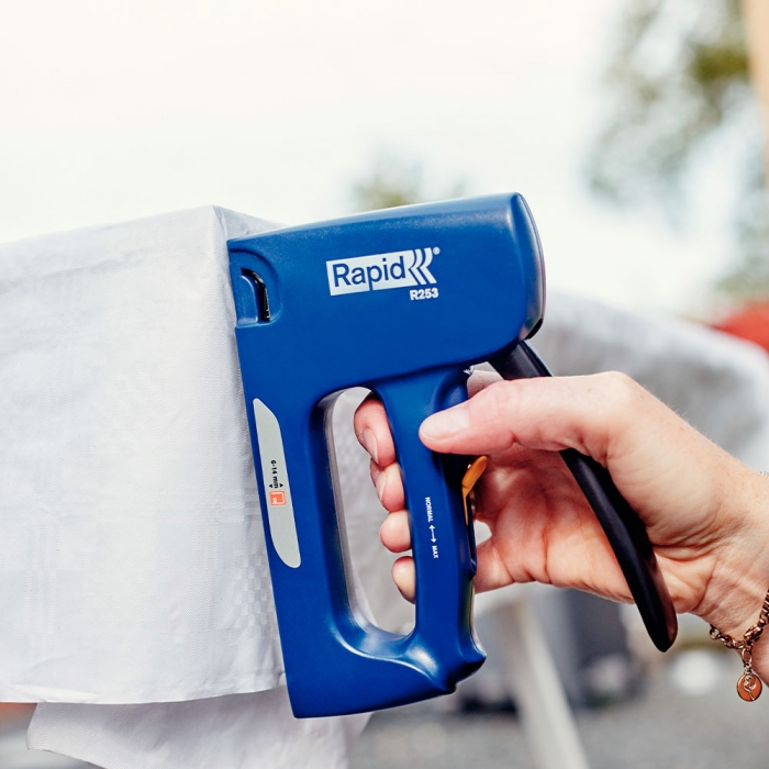 Capsator tacker Rapid R253E, reglare forta capsare, capse 53/6-14 mm, 3 ani garantie, fabricat in Suedia 5000062-big