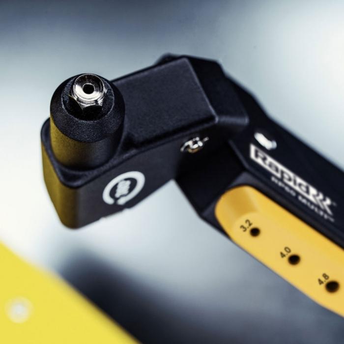 Cleste pop nituri Rapid RP60 Multi, cap rotativ 360⁰, 3.2/4.0/4.8mm, verificator nituri, etrier integrat, grip moale, garantie 3 ani, 5001140-big