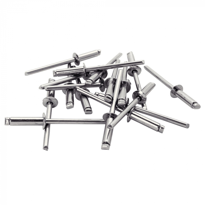 Nituri Rapid otel inoxidabil diametru 4.0mm x 12mm, burghiu metal HSS inclus, 50buc/set, 5000394-big
