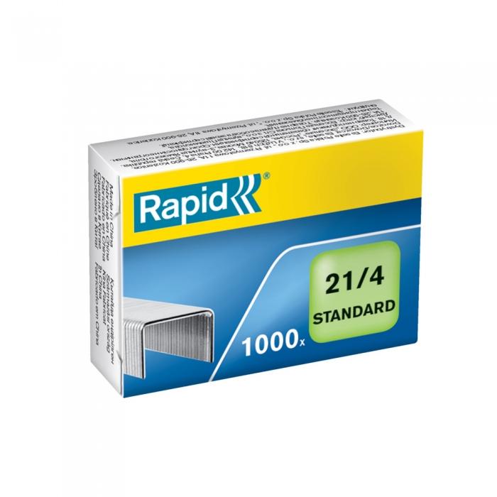 Capse Rapid 21/4 Standard, otel galvanizat, 1000 bucati/cutie 24867600-big