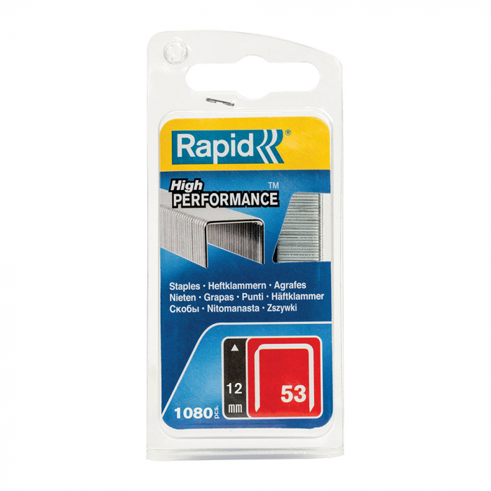 Capse Rapid 53/12, sarma subtire, galvanizate, decoratiuni, 1080/blister 40109505-big