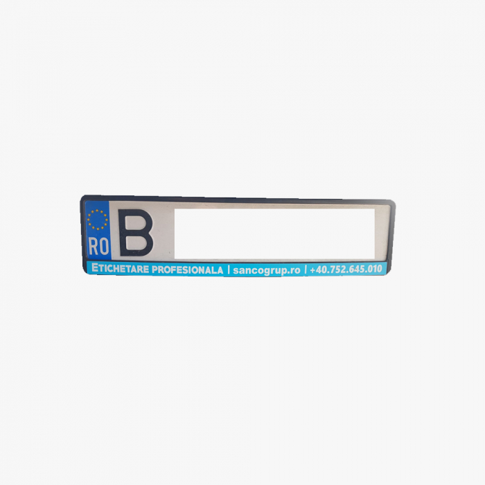Registration plate holder 2 pcs/ set-big