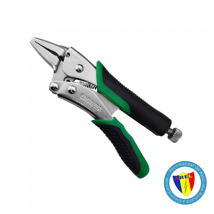 Screw Removal Locking Pliers XP ENGINEER PZ-66, slender nose, 150 mm, made in Japan-big