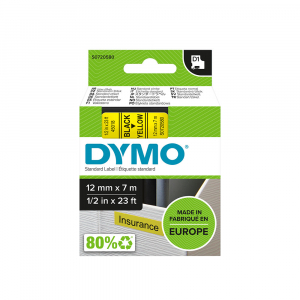 Aparat de etichetat (imprimanta etichete) DYMO LabelManager 160P, QWERTY si 3 benzi originale Dymo, rosu, galben si albastru15
