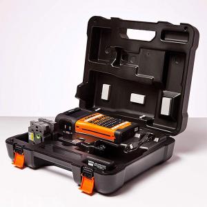 Aparat etichetat portabil Brother PT-E550WSP Kit, QWERTY, 180 Dpi, conectare Wi-Fi si USB, cutter automat, latime banda max. 24 mm, include 2 benzi TZE 24 mm Strong Adeziv1