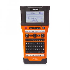 Aparat etichetat portabil Brother PT-E550WSP Kit, QWERTY, 180 Dpi, conectare Wi-Fi si USB, cutter automat, latime banda max. 24 mm, include 2 benzi TZE 24 mm Strong Adeziv2