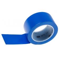 Banda marcare/protectie, 1 culoare, 3M 764I vinil, albastru, 50mm X 33m, 24 role/cutie0