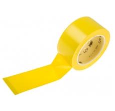 Banda marcare/protectie, 1 culoare, 3M 764I vinil, galben, 50mm X 33m, 24 role/cutie0