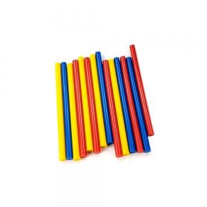 Baton silicon profesional Rapid Universal color (rosu, galben, albastru), Ø12mm x 190mm, baza EVA, 250g/blister 249414002
