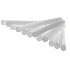 Batoane lipici Rapid LT Ø12 mm x 190 mm, transparent, temperatura mica, 1.000 g, punga2