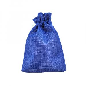 Saculet textil albastru 17cm x 11.5cm1