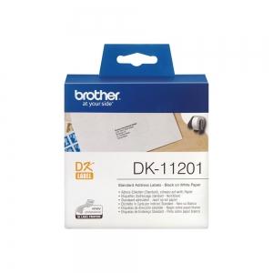 Brother DK eticheta adresa standard, 29mm x 90mm, 400 etich/rola, DK112012