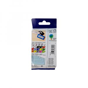 Brother TZE241 etichete originale laminate 18mm x 8m, negru pe alb, P-Touch TZe-2416