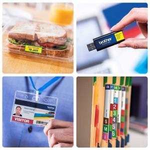 Brother VC-500W imprimanta termica multifunctionala compacta pentru etichete full color, conectare Wireless sau USB, tehnologie printare ZINK Zero Ink, 313 DPI, App gratuit12