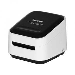 Brother VC-500W imprimanta termica multifunctionala compacta pentru etichete full color, conectare Wireless sau USB, tehnologie printare ZINK Zero Ink, 313 DPI, App gratuit0