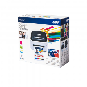 Brother VC-500W imprimanta termica multifunctionala compacta pentru etichete full color, conectare Wireless sau USB, tehnologie printare ZINK Zero Ink, 313 DPI, App gratuit22