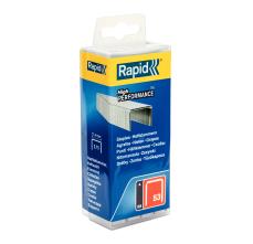 Capse Rapid 53/10 mm, galvanizate, 5.000/ cutie polipropilena0