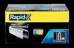 Rapid semi-circular staples 36/14mm, galvanized, divergent, 1,000 pcs / box4
