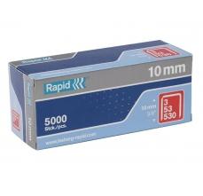 Capse Rapid 53/10 mm, galvanizate, 5.000/ cutie0