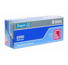 Capse Rapid 53/8 mm, galvanizate, 5.000/ cutie0