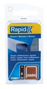 Capse Rapid BMN/8mm, galvanizate, 1.080/ blister0