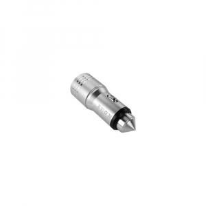 Adaptor priza bricheta auto 2 x USB Smart Charging, sistem spargere geam in caz de pericol2