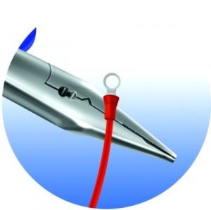 Cleste de electrician multifunctional, 514/1BI UNIOR, negru-albastru, 160 mm, taie sarma 2.2-4 mm  6127823
