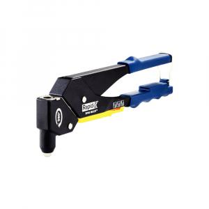 Cleste pop nituri Rapid RP60 Multi, cap rotativ 360⁰, 3.2/4.0/4.8mm, verificator nituri, etrier integrat, grip moale, garantie 3 ani, 50011400