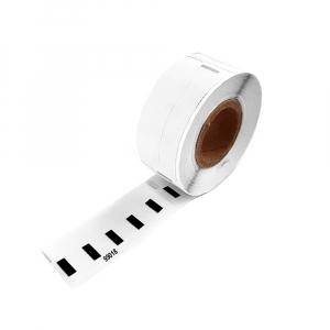Etichete termice compatibile adrese, permanente, 190mm x 38mm, hartie alba, 110 etichete/rola, 99018 S07224700