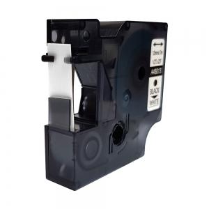 Compatible labels 12mm x 7m, black on white, 45013 S0720530-C7