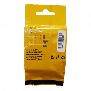 DYMO industrial ID1 flexible nylon compatible labels, 12mm x 3.5m, black on yellow, 18490 18490-C7