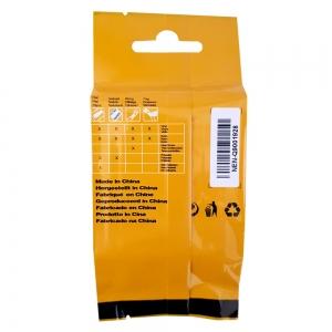Etichete tub termocontractibil compatibil, DYMO ID1, 9mm x 1.5m, negru/alb, 18053 S0718280-C7