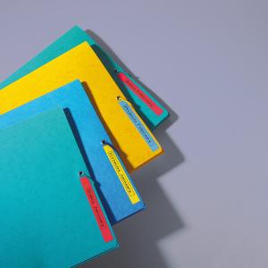 Etichete autocolante compatibile, 12mm x 7m, negru/albastru, 45016 S0720560-C5