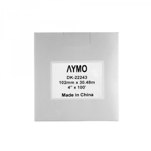 Etichete termice autocolante compatibile, Brother DK-22243, hartie alba, modul continuu, 102mmx30.48m, suport din plastic inclus DK22243-C3