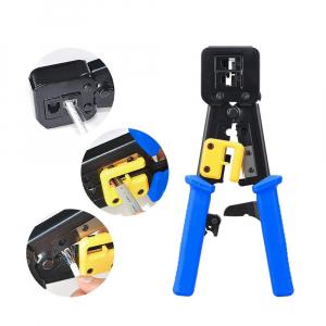 Cleste sertizat mufe 6P4C/RJ11 6P6C/RJ12 8P8C/RJ45 Pass Through, conectori cabluri de retea si telefonie NAR08553