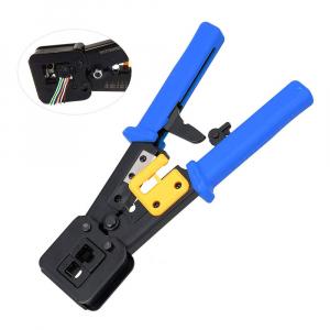 Cleste sertizat mufe 6P4C/RJ11 6P6C/RJ12 8P8C/RJ45 Pass Through, conectori cabluri de retea si telefonie NAR08556