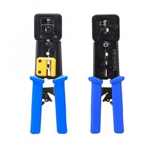 Cleste sertizat mufe 6P4C/RJ11 6P6C/RJ12 8P8C/RJ45 Pass Through, conectori cabluri de retea si telefonie NAR08551