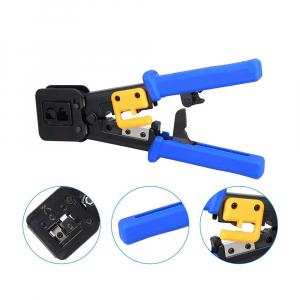 Cleste sertizat mufe 6P4C/RJ11 6P6C/RJ12 8P8C/RJ45 Pass Through, conectori cabluri de retea si telefonie NAR08552