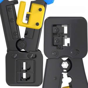 Cleste sertizat mufe 6P4C/RJ11 6P6C/RJ12 8P8C/RJ45 Pass Through, conectori cabluri de retea si telefonie NAR08555