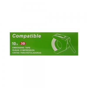 Etichete plastic embosabile compatibile Omega, 9mmx3m, furnir, A520111 S0898130-44